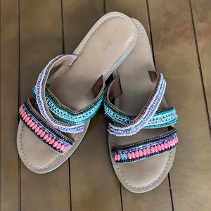 Universal Thread Beaded Sandals